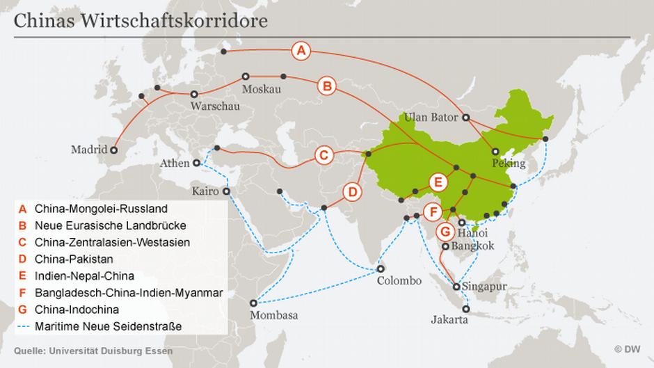 Was bringt Chinas Neue Seidenstraße? | Wirtschaft | DW | 17.11.2017