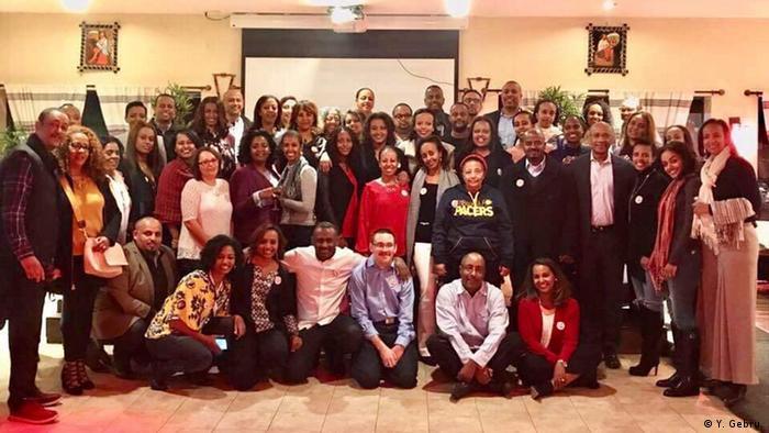 Äthiopien Schule in Addis Abeba - Treffen in Washington DC
