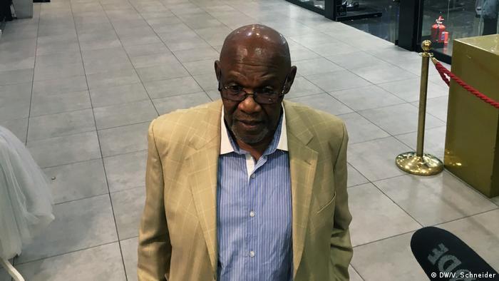Zimbabwe opposition leader ZAPU Dumiso Dabengwa