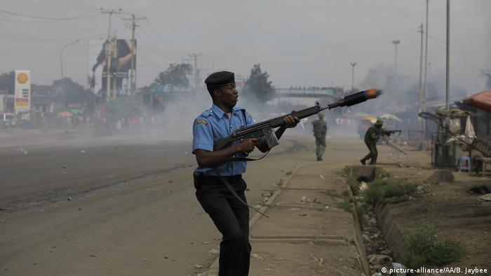 Kenia - erneute Proteste in Nairobi