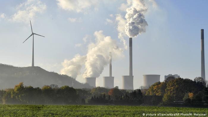 Coal-burning power plant in Gelsenkirchen