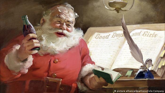 Santa Claus Coca Cola 125 Anniversary