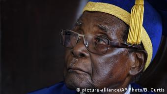 Simbabwe Harare Robert Mugabe