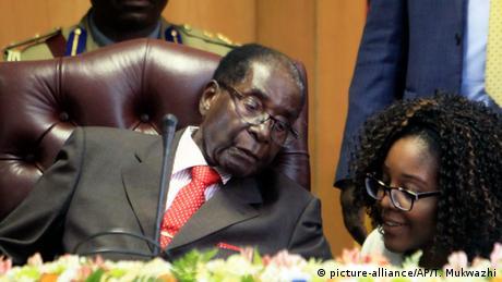 Robert Mugabe (picture-alliance/AP/T. Mukwazhi)