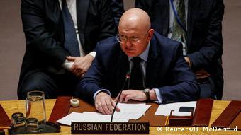واسیلی نبنزیا، سفیر روسیه در شورای امنیت