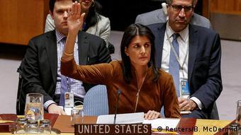 USA New York Abstimmung Chemiewaffenuntersuchung in Syrien (Reuters/B. McDermid)