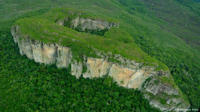 Kolumbien Parque Nacional Natural Chiribiquete (Enrique Ortiz)