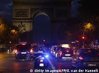 Кортеж Саада Харірі в Парижі 18 листопада 2017 року