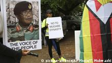 Simbabwe Protest in Harare