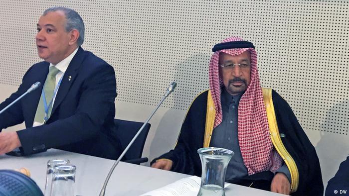 COP23 Klimakonferenz in Bonn Khalid A. Al-Falih und Ayman Shasly (DW)