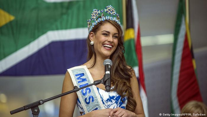 Miss World 2014: Rolene Strauss (Getty Images/AFP/M. Safodien)