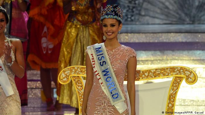 Miss World 2013: Megan Young (Getty Images/AFP/R. Gacad)