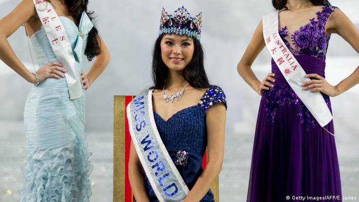 Miss World 2012: Yu Wenxia (Getty Images/AFP/E. Jones)