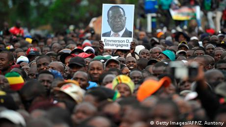 Zimbabwe Protest in Harare