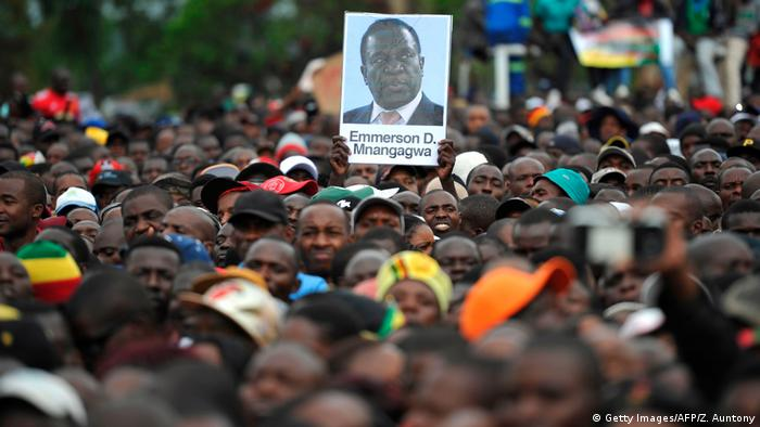 Simbabwe Proteste in Harare (Getty Images/AFP/Z. Auntony)