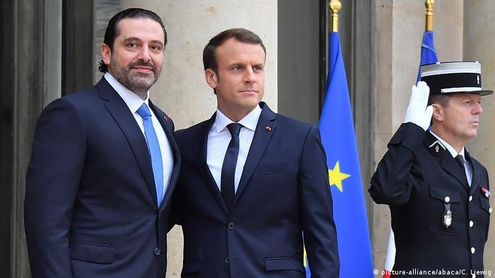 Em Paris, Hariri confirma retorno ao Líbano