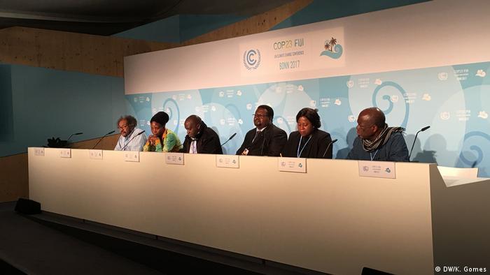 Organizações da sociedade civil em África estão insatisfeitas com resultado da COP23