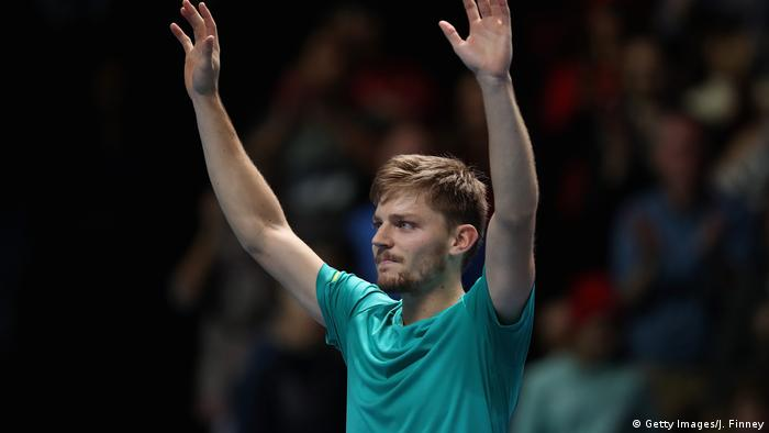 UK Nitto ATP World Tour Finals | David Goffin (Getty Images/J. Finney)
