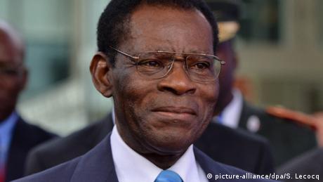 Portraitfoto von Teodoro Obiang Nguema