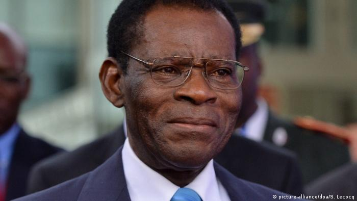 Äquatorialguinea Präsident Teodoro Obiang