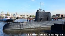 Argentinien Suche nach U-Boot mit 44-köpfiger Besatzung dauert an