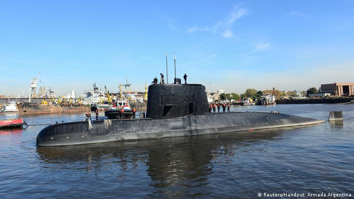Подводная лодка Сан Хуан, Аргентина, 2014 г.