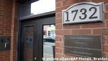 USA Washington PLO Büro