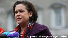 Mary Lou McDonald (picture-alliance/PA Wire/B. Lawless)
