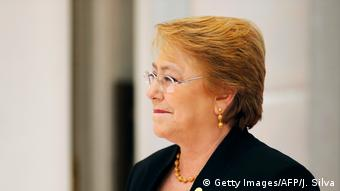 Chile Präsidentenwahl Kandidaten | Michelle Bachelet (Getty Images/AFP/J. Silva)