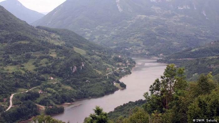 Grenzgebiet zwischen Bosnien-Herzegowina und Serbien (DW/M. Sekulic)