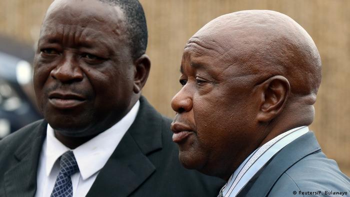 Simbabwe Parteitreffen ZANU-PF Chris Mutsvangwa (Reuters/P. Bulawayo)