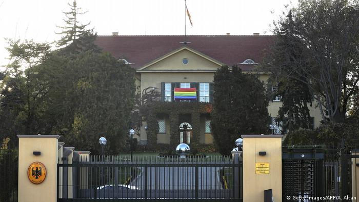 Будівля посольства ФРН у Анкарі