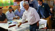 Chile Präsidentschaftswahl | Kandidat Sebastian Pinera