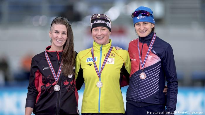 Norwegen Eisschnelllauf Claudia Pechstein