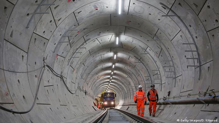 UK Die neue Elizabeth Line in London (Getty Images/D. Kitwood)