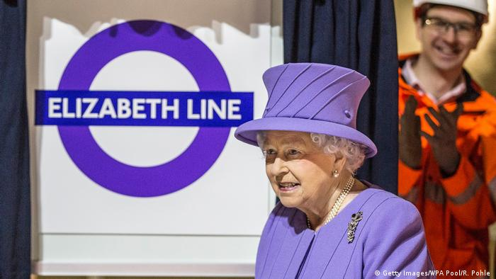 UK Die neue Elizabeth Line in London (Getty Images/WPA Pool/R. Pohle )