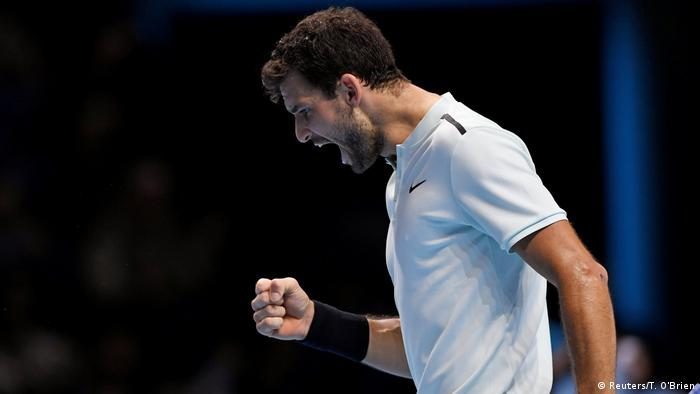 UK Tennis - ATP World Tour Finals | Dimitrov gegen Goffin (Reuters/T. O'Brien)