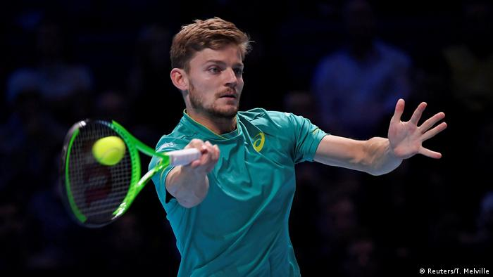 UK Tennis - ATP World Tour Finals | Dimitrov gegen Goffin (Reuters/T. Melville)