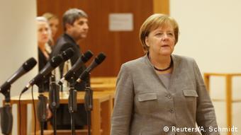 Deutschland Sondierungsgespräche in Berlin   Merkel