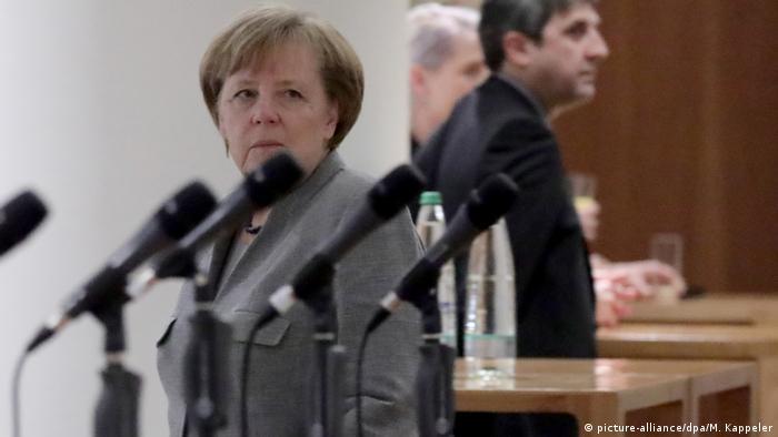 Angela Merkel după eșuarea negocierilor | Merkel