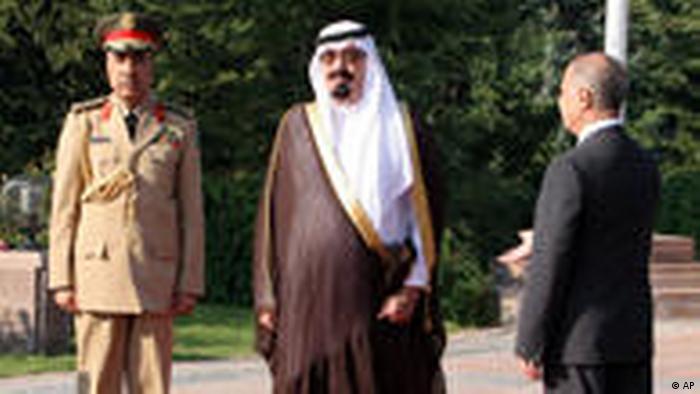 König Abdullah von Saudi Arabien (AP)