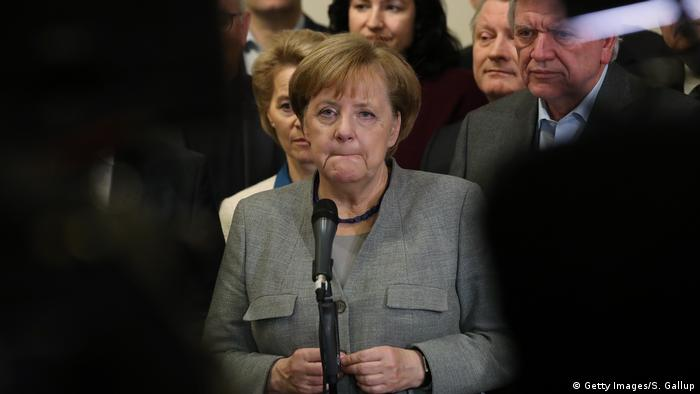 Deutschland Angela Merkel Scheitern der Sondierungsgespräche