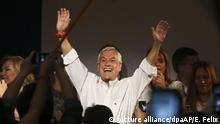 Wahlen in Chile Sebastian Pinera jubelt
