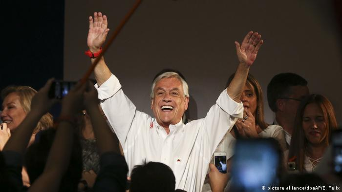 Piñera e Guillier disputam segundo turno no Chile
