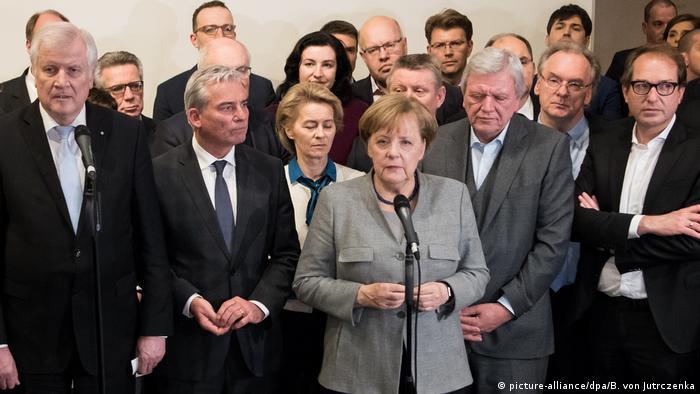 Berlin Scheitern der Sondierungsgespräche (picture-alliance/dpa/B. von Jutrczenka)