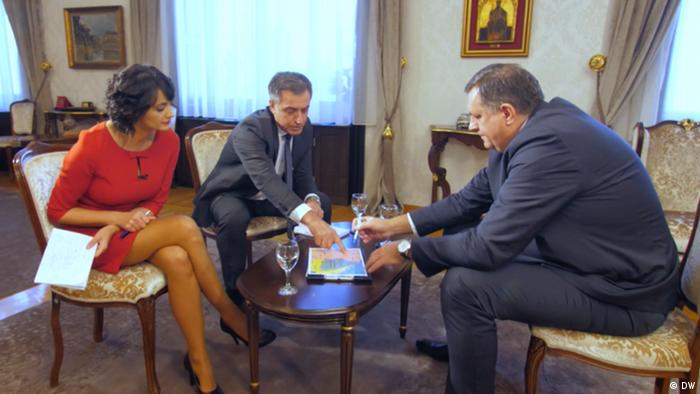 Präsident der Republika Srpska Milorad Dodik