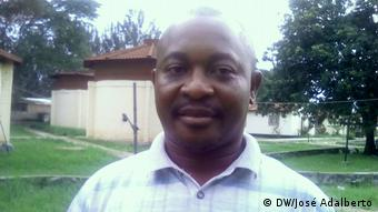 Angola Huambo Gouverneure meiden es, im offiziellen Palast der Provinz Huambo zu leben