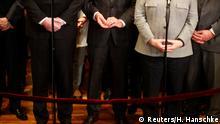 Berlin CDU/CSU-Größen Gestik nach Ende der Sondierungsgespräche