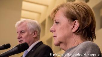 Merkel and Seehofer