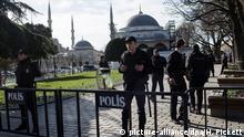 Türkei Istanbul Terroranschlag Sultanahmet
